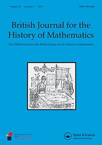 Cover of BJHM Volume 34 Number 3